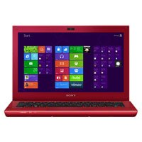 Sony Vaio S Series 13 Laptop- Red
