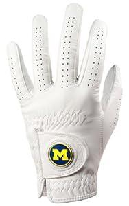 Michigan Wolverines Golf Glove & Ball Marker - Left Hand - Medium Large by LinksWalker