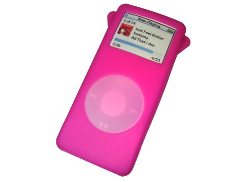 BABY PINK Skin Case Cover for iPod Nano 1st Generation 1gb 2gb 4gb + Screen Protector