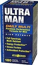 Vitamin World Ultra Man Daily Multi Vitamin, 180 Caplets