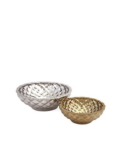 Nikki Chu Set of 2 Coraline Ceramic Bowls