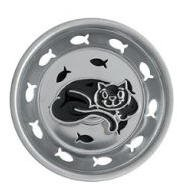 Black CAT home decor SINK STRAINER Kitchen drain plug