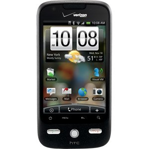 New Htc Droid Eris Smartphone Phone Style Bar Black Bluetooth Wi Fi Input Method Touch Screen