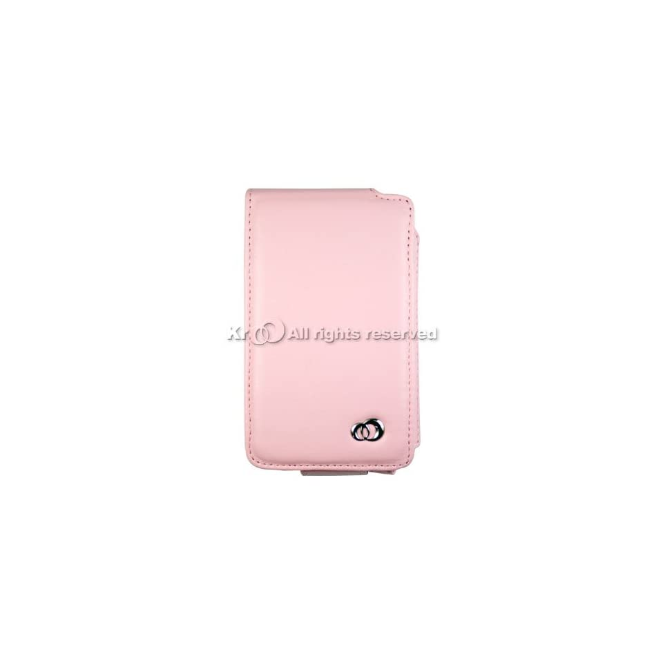 Pink luxury leather case for Apple iPOD Classic 160/80/60/30 GB 80GB 160GB 30