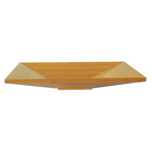 Yosemite Home Decor BRAXTON-L 5-Inch High Natural Bamboo Topmount Modern Euro Vessel Sink