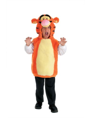 Baby-boys - Vest Tigger Toddler Costume 2T Halloween Costume