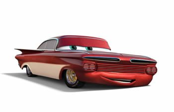 Cars: Ramone Chip Fooz (Red)