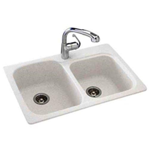 Swanstone Sinks : swanstone granite sinks: Swanstone KSDB-3322-010 33-Inch by 22-Inch ...
