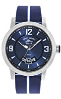 Tommy Bahama RELAX Men's RLX1218 Beach Cruiser Round Case Blue Detail Dial Strap Watch from Tommy Bahama RELAX