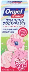 Orajel Toddler My Little Pony Training Toothpaste 1.5 oz