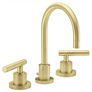 california faucets 8 widespread lavatory faucet satin