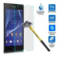 MVTH Brand Clear Tempered Glass Screen Protector for Sony Xperia Z3