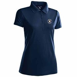 Houston Astros Ladies Pique Xtra Lite Polo Shirt (Team Color) by Antigua