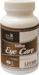 Nutri-Supreme Research Ultra Eye Care With Lutein - 120 Vegetarian Capsules