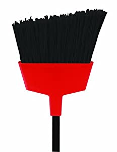 O-Cedar Commercial Large Angle Broom with Flagged Bristles