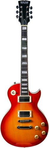 Single Cutaway LP Electric Guitar Cherry Burst