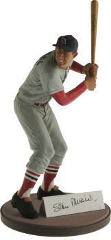 Gartlan Authentic Stan Musial Cardinals Artist Proof Autographed Figurine - Autographed MLB Figurines