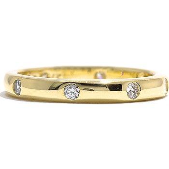 14k Gold Diamond Wedding Band Comfort Finish