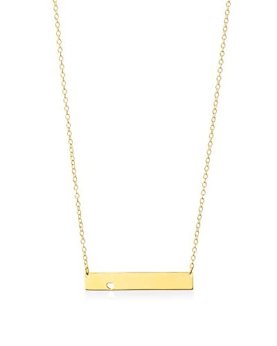 Dolce Vetra Flat Bar Necklace