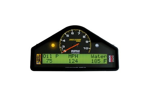 Auto Meter 6003 Pro-Comp Pro 0-3000-10000 Rpm Street Dash Tachometer And Speedometer Gauge