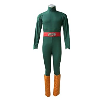 Naruto Cosplay Costume -Rock Lee 1st Medium