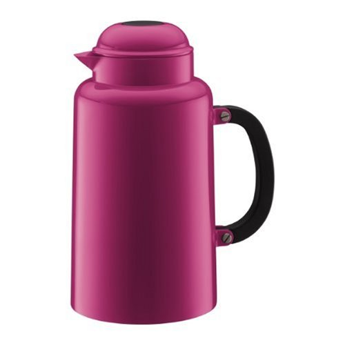 Bodum Chambord 34-Ounce Thermo Double Wall Vacuum Carafe, Pink (Bodum Tea Press Insert compare prices)