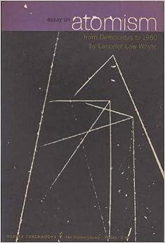 Democritus' Theory of Atomism