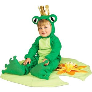 Halloween Costumes Lil' Frog Prince Infant Halloween Costume