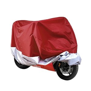 housse bache moto couvre moto velo vtt scooter taille xl 245cm rouge argente protection amazon. Black Bedroom Furniture Sets. Home Design Ideas