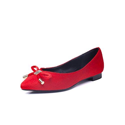 Été clair chaussures pointues /Chaussures plates femmes/ arcs chaussures basses / female coréenne pieds shoes