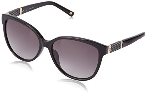 Escada-Sunglasses-Womens-SES310-0700-Cateye-Sunglasses-Black