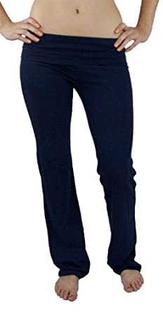 Fold Over Cotton Spandex Lounge Pants SP-226