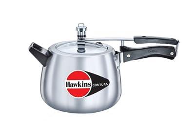 Hawkins M42 Contura Aluminum Pressure Cooker, 4-Liter by Mercantile International