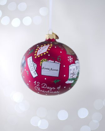 "Michael Storrings ""12 Days of Christmas"" Limited Edition Ornament Exclusively For Neiman Marcus"