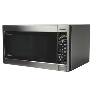 New Panasonic Counter Top Microwave 1.2 Cubic Foot Capacity 13.5 Inch Turntable 1300 Watts Power