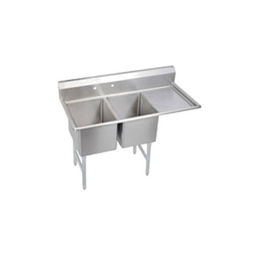 elkay-ssp-2c24x24-r-24-standard-2-compartment-sink