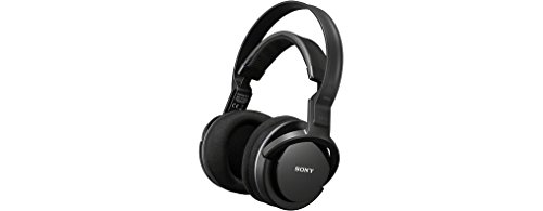 Sony MDR-RF855RK Cuffie Wireless Radiofrequenza con supporto per ricarica, Nero