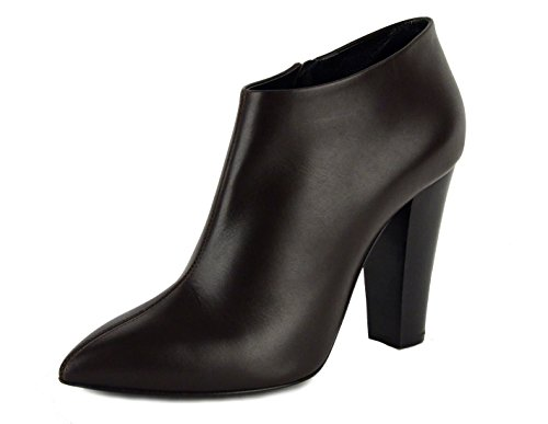 Giuseppe Zanotti Ankle Boots Dark Brown Leather High Heel Booties IT 41 US 11