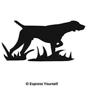 Large) Decal/Sticker - Hunting Dog Collection - Pointer: Automotive