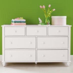 Cheap Kids Dressers: Kids 7 – Drawer White Jenny Lind Dresser (B003Z2XDWC)