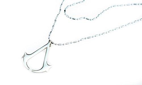Halder Assassin's Creed Pendant Necklace Accessories(Steel Ball)