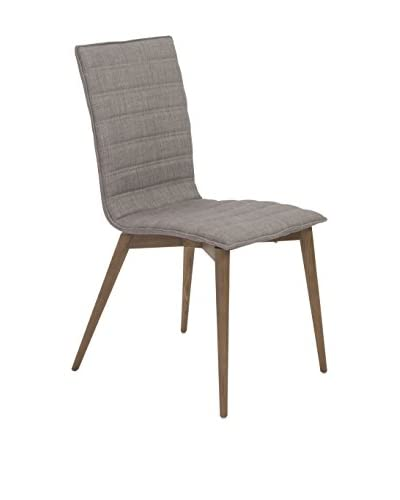 Euro Style Yoland Side Chair, Gray