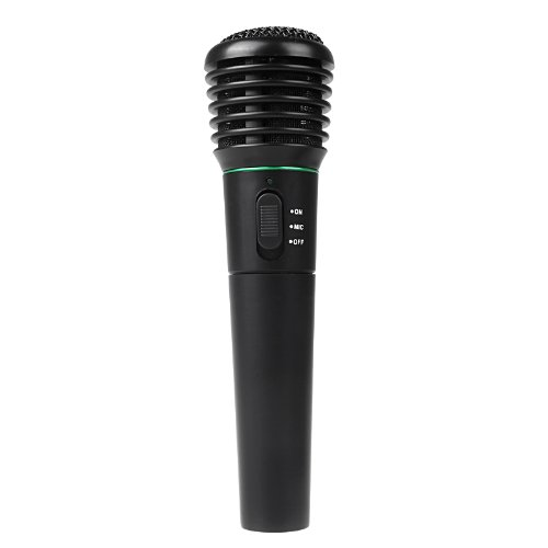 Docooler 2In1 Wired & Wireless Cordless Handheld Microphone Mic For Karaoke Singing Dj (Red)