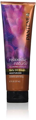 Pantene Pro-V Relaxed & Natural Daily Oil Cream Moisturizer, 8.7 oz