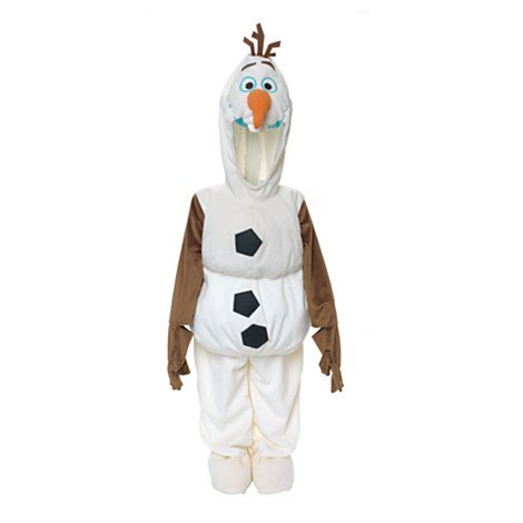 Disney Olaf Snow Man Snowman From Frozen Dress up Costume for Kids 18-24 Months 2t