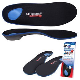 Powerstep Protech Control Full Length Orthotics Size 9-9 1 ...