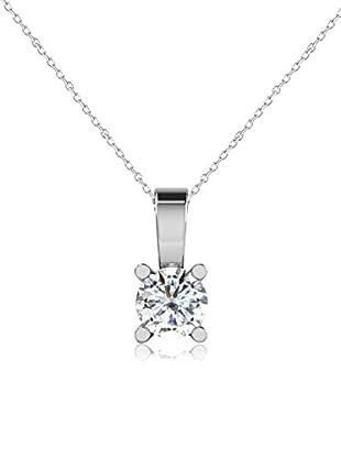Friendly Diamonds Conjunto de cadena y colgante FDP7187Y Oro Blanco