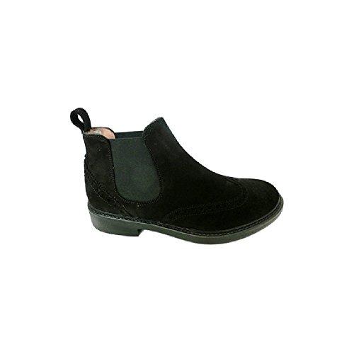 Soldini Scarpe Sneaker Uomo Mens an62 Black (44)