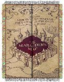 The Northwest Company Warner Bros Harry Potter Marauder's Map Tapestry Throw, 48 by 60-Inch