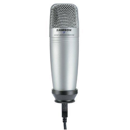 Samson C01U USB Studio Condenser Microphone  with Cakewalk Sonar LE